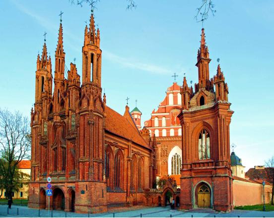 חזית כנסיית אנה הקדושה