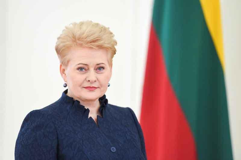 דליה גריבאוסקאייטה – נשיאת ליטא