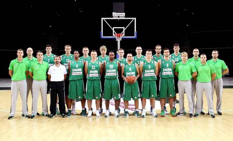 קבוצת הכדורסל ז'לגיריס קאונס (Žalgiris)